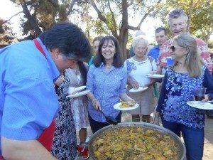 Fiesta de la Hispanidad (paellas)
